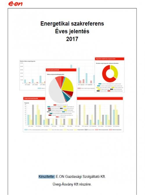 Energetikai szakreferens - Éves jelentés 2017